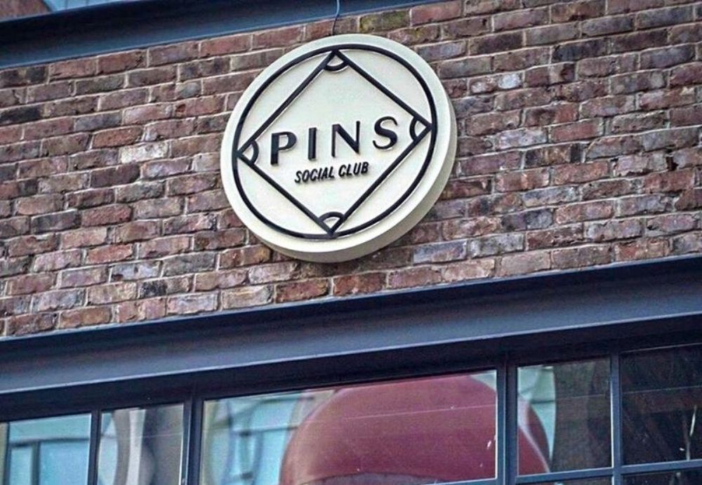 Logo for Pins Social Club